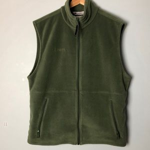 Columbia Men's Green Fleece Vest
